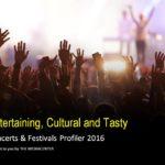 CONCERTS & FESTIVALS PRESENTATION