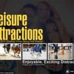 LEISURE ATTRACTIONS (Bowling, Horse Racing and Skating) PRESENTATION