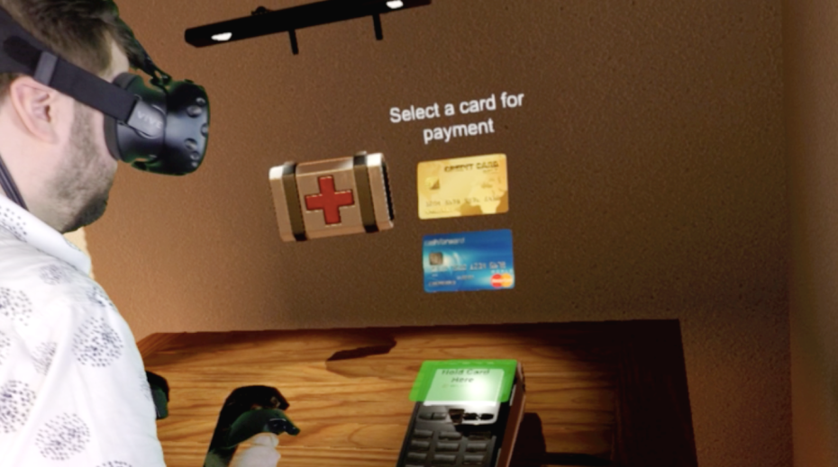 WORLDPAY DEMOS SYSTEM FOR MAKING PAYMENTS INSIDE VIRTUAL REALITY WORLDS
