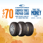 "Cooper Tire's Fall ""Take The Money & Ride"""