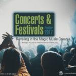 CONCERTS AND FESTIVALS 2017 PRESENTATION
