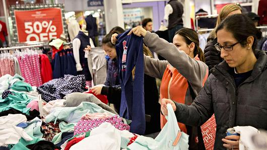 CONSUMER CONFIDENCE HITS NEW 17-YEAR HIGH