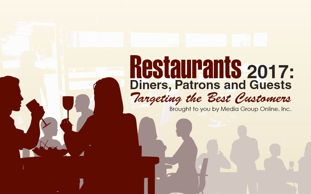 RESTAURANTS 2017: DINERS, PATRONS AND GUESTS