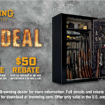 """Browning Offers """"Holiday Cash"""" & """"Steel of a Deal"""""""