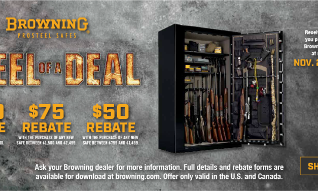 "Browning Offers ""Holiday Cash"" & ""Steel of a Deal"""