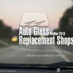 AUTO GLASS REPLACEMENT SHOP 2018 PRESENTATION