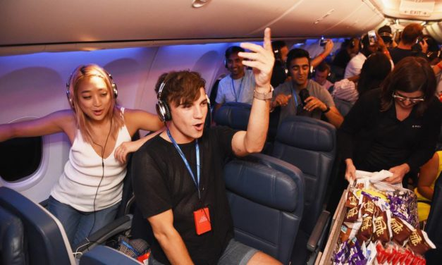 DELTA AIR LINES IS GOING AFTER FUTURE BUSINESS TRAVELERS — WHILE STILL IN COLLEGE