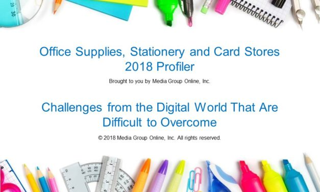OFFICE SUPPLIES, STATIONERY AND CARD STORES 2018 PRESENTATION