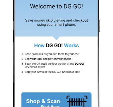 DOLLAR GENERAL PILOTS MOBILE CHECKOUT APP
