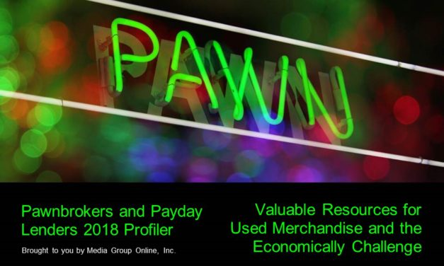 PAWNBROKERS AND PAYDAY LENDERS 2018 PRESENTATION