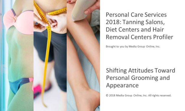 PERSONAL CARE SERVICES 2018: TANNING SALONS, DIET CENTERS AND HAIR REMOVAL CENTERS PRESENTATION