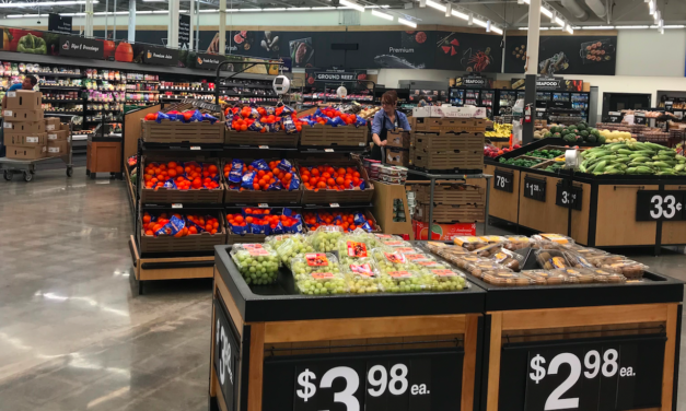 EXCLUSIVE: WALMART UNVEILS GROCERY-PICKING ROBOTS IN TEST STORE