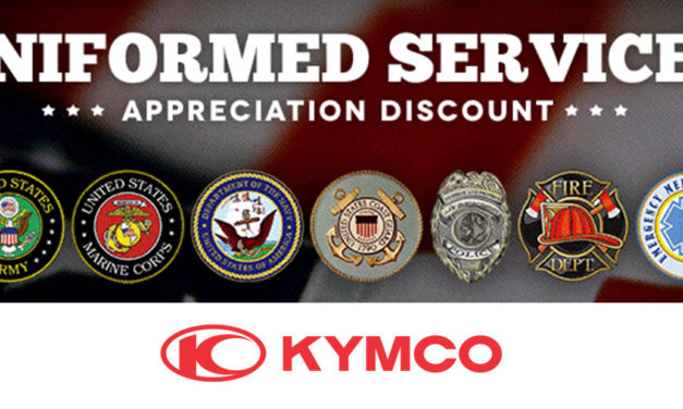 KYMCO Uniformed Services Appreciation Program!