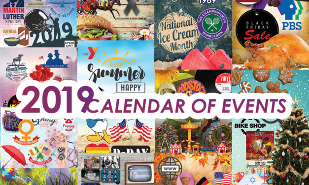2019 CALENDAR OF EVENTS