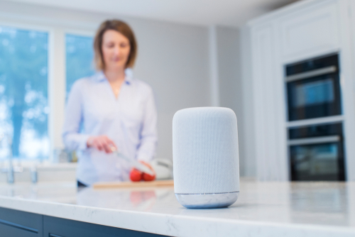 MORE PEOPLE WITH SMART SPEAKERS