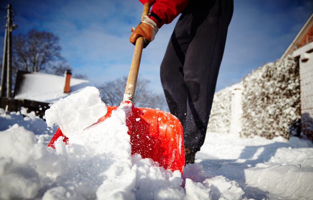 THE <NAME OF RETAILER> SNOW-SHOVELING BRIGADE