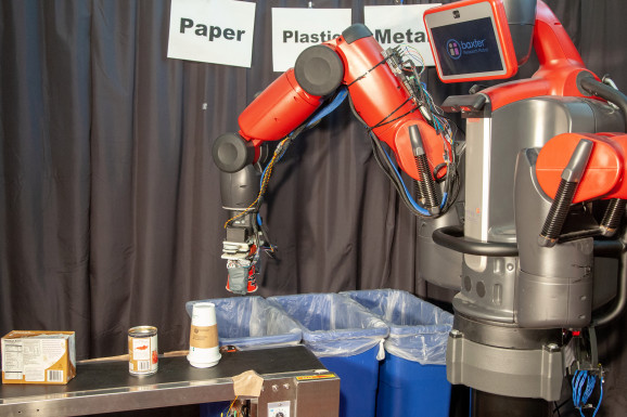 MIT ROBOT SORTS RECYCLING AND TRASH BY TOUCH