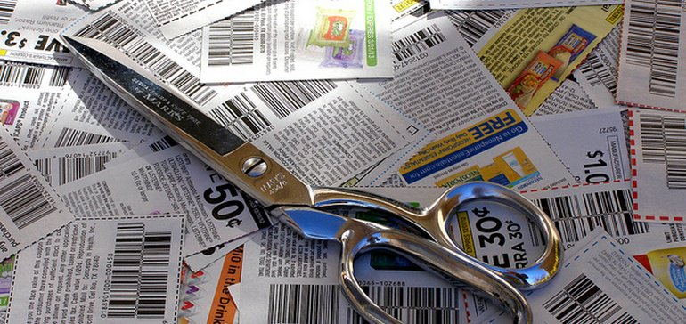 PRINT COUPONS CONTINUE TO DECLINE, REPORT SAYS