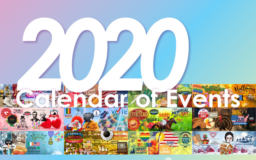 2020 Calendar of Events