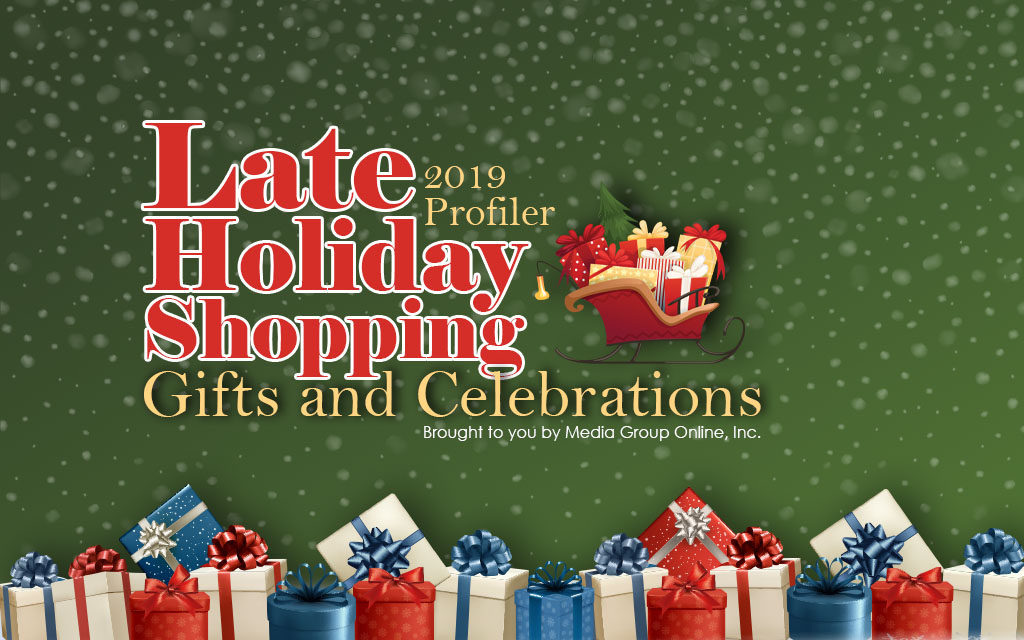 Late Holiday Shopping 2019: Gifts and Celebrations Presentation