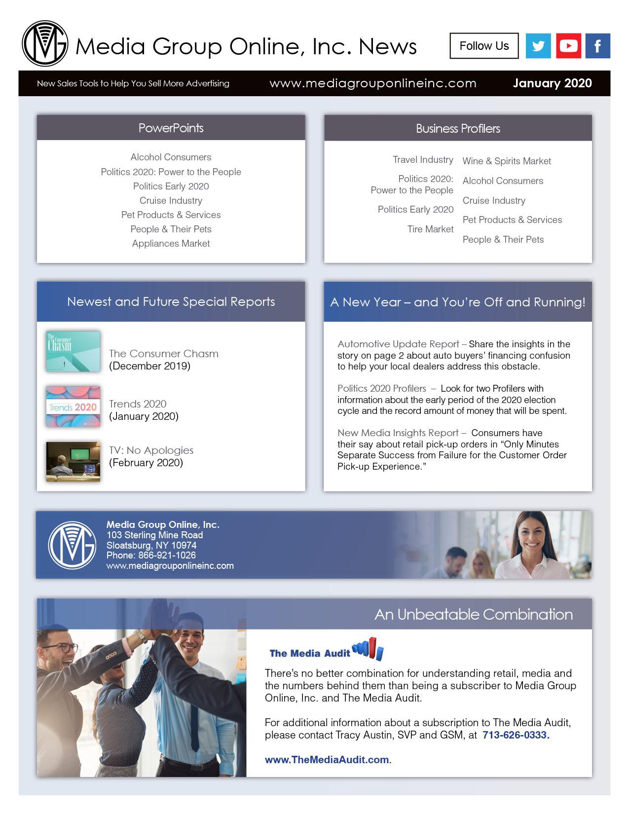 January 2020 Newsletter 8.5x11 PDF