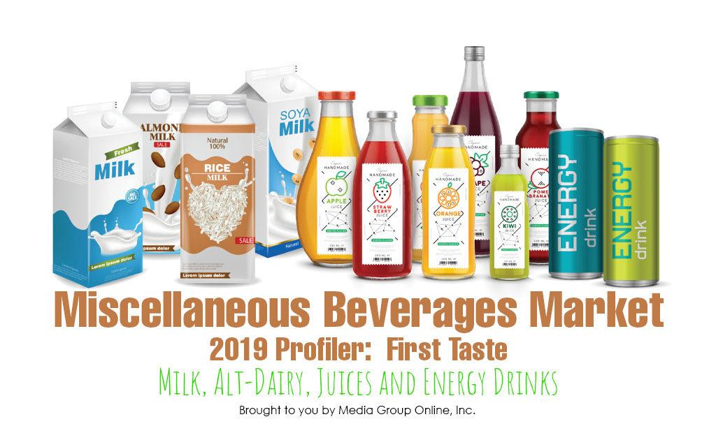 Miscellaneous Beverages Market 2019: First Taste Presentation