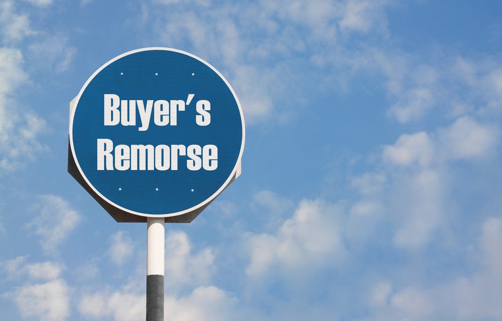 """""""Buyer's Remorse"""" Grows Up"""