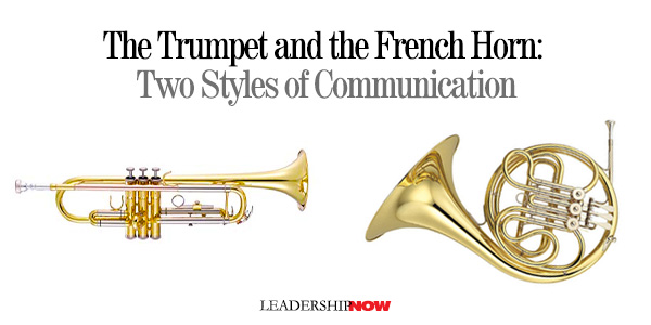 The Trumpet and the French Horn: Two Styles of Communication