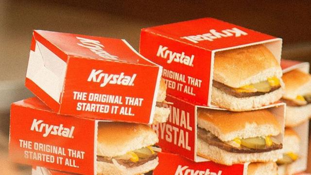 Krystal Files for Bankruptcy Blaming 'Shifting Consumer Tastes,' Increased Costs