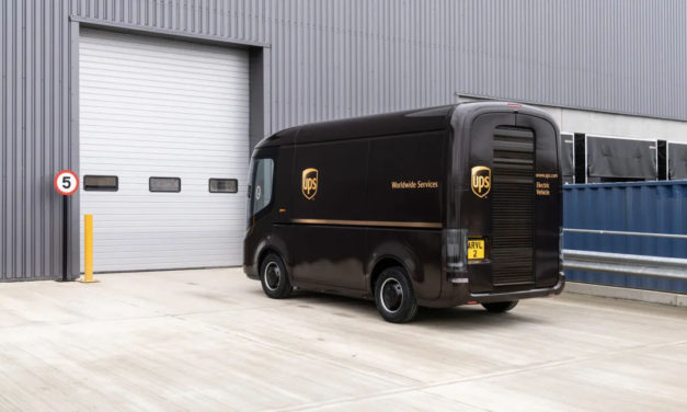 UPS is Buying 10,000 of These Cute Electric Delivery Trucks