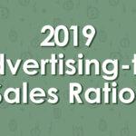 2019 ADVERTISING-TO-SALES RATIOS