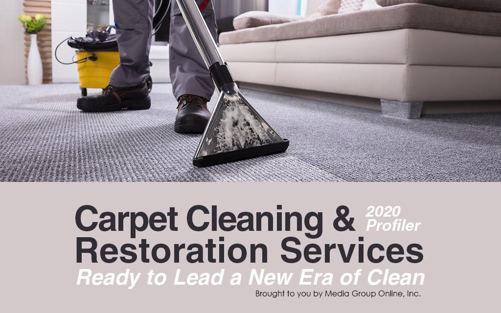 Carpet Cleaning & Restoration Services 2020 Presentation