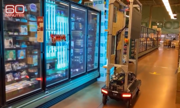 60 Minutes Shows Amazon's Virus-Killing Robot; Says Company Uses AI to Enforce Social Distancing