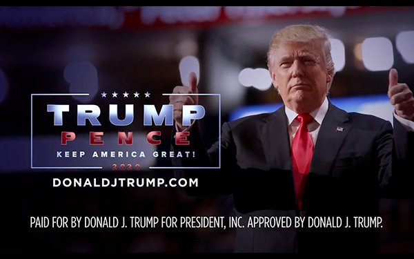 National TV Political Advertising Up Sharply, Trump Campaign Spending Dominates