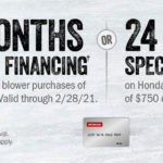 Honda Snow Blower Special Financing Offer!