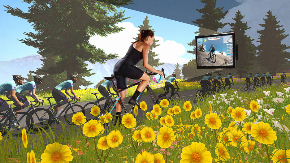 The Tour De France Goes Virtual, as E-Cycling Takes Off During Quarantine
