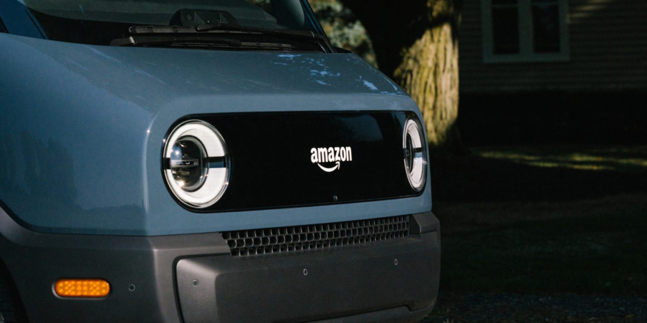 Amazon Debuts its First Fully Electric Delivery Vehicle, Created in Partnership with Rivian