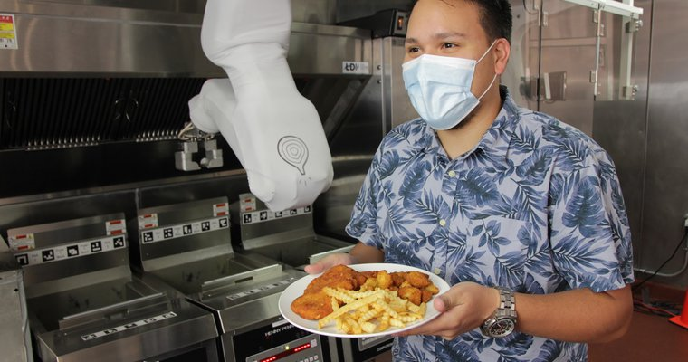 Burger-Flipping, Fry-Dipping Robot 'Roars' Into Bigger QSR Reality