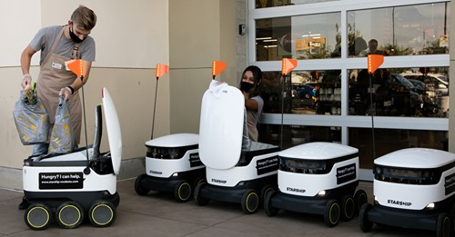 Save Mart Cos. First U.S. Grocer to Launch Starship Delivery Robots