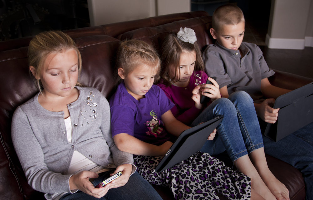 Increased Screen Time for Children and Teens Is Likely Here to Stay
