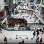 Homebound Workers Inject Life into Suburban Malls After Downtowns Empty Out