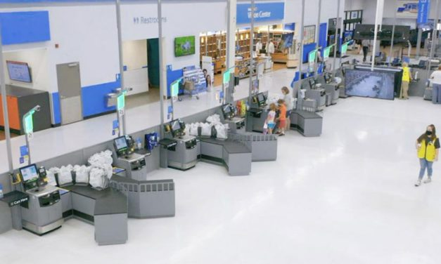 First Look: Walmart's New Self-Checkout Store
