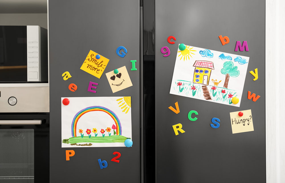 The Children's Refrigerator Art Gallery