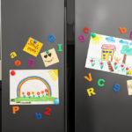 The Children's Refrigerator Art Gallery