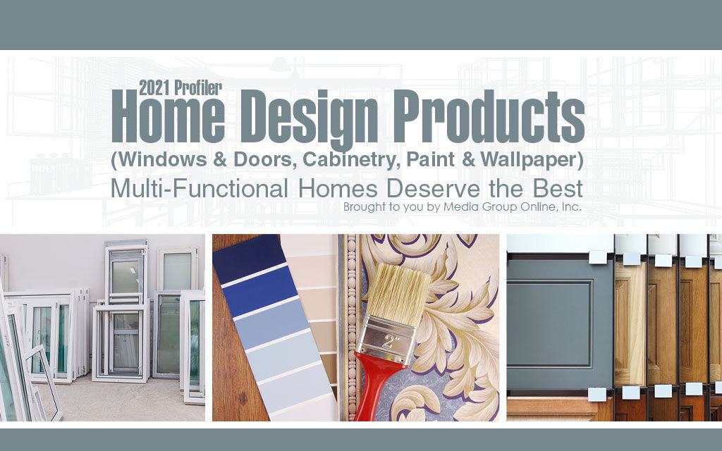 Home Design Products (Windows & Doors, Cabinetry, Paint & Wallpaper) 2021 Presentation