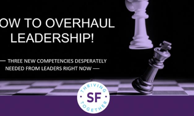 How to Overhaul Leadership
