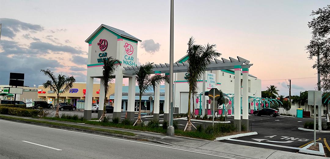 El Car Wash Opens Largest Carwash in Florida